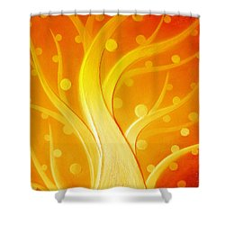 Birth Shower Curtain