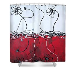 Blossom Shower Curtain by Kathy Sheeran