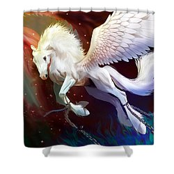 Born To Be Free Shower Curtain