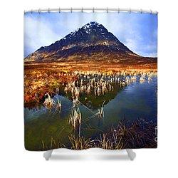 Buachaille Etive Mor Scotland Shower Curtain by Craig B