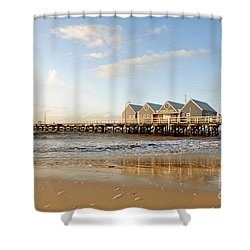 Busselton Jetty Shower Curtain
