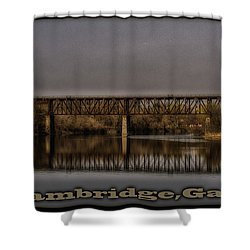 Cambridge  Shower Curtain