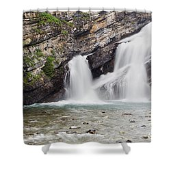Cameron Falls Shower Curtain by Dee Cresswell