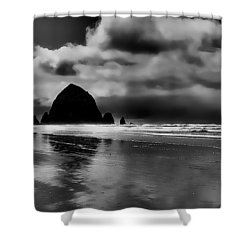 Cannon Beach - Oregon Shower Curtain by David Patterson