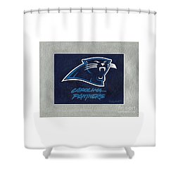 Panthers  Shower Curtain