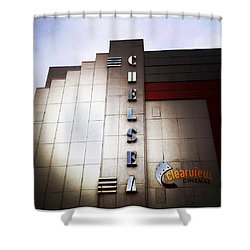 Chelsea Art Deco Shower Curtain by Natasha Marco