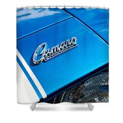 Chevrolet Camaro Emblem Shower Curtain by Jill Reger