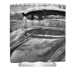 Chevy Classic Shower Curtain by Tam Ryan