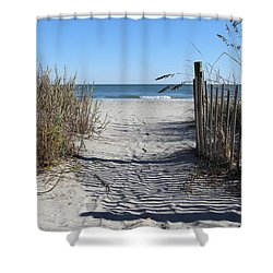 Life Is About Choice  Shower Curtain