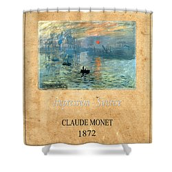 Claude Monet 2 Shower Curtain by Andrew Fare
