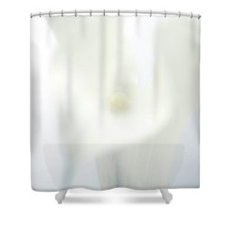 Close Up Of A Calla Lily Flower Shower Curtain