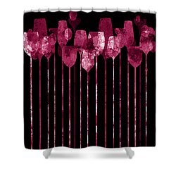 Cocktail Hour 3 Version 2 Shower Curtain
