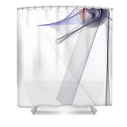 Color Symphony Shower Curtain