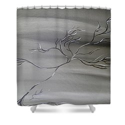 2 Colors Shower Curtain