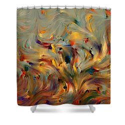 2 Corinthians 5 7. Faith- Not Emotion Shower Curtain by Mark Lawrence