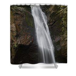 Courthouse Falls North Carolina Shower Curtain