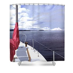Cruising North Shower Curtain