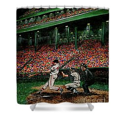 Derrek's Homerun Shower Curtain