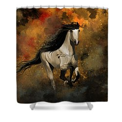 Devotion Shower Curtain by Kate Black