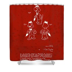 Disney Jose Carioca Shower Curtain