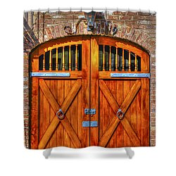 Doors Of Charleston Shower Curtain