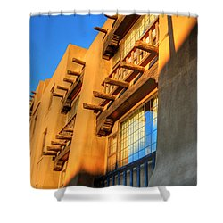 Downtown Santa Fe Shower Curtain