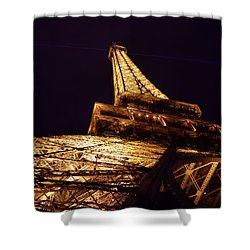 Eiffel Tower Paris France Shower Curtain by Patricia Awapara
