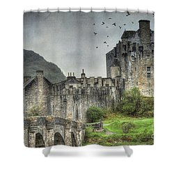 Eilean Donan Castle Shower Curtain by Juli Scalzi