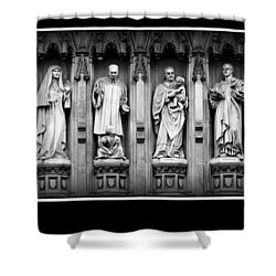 Faithful Witnesses -- Poster Shower Curtain