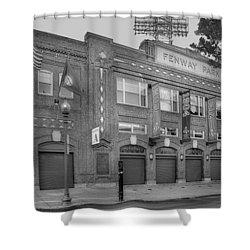Fenway Park - Best Of Boston Shower Curtain by Susan Candelario