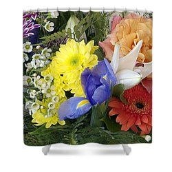 Floral Bouquet 4 Shower Curtain
