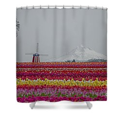 For The Beauty Of The Earth Shower Curtain by Nick  Boren