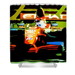 Formula One Shower Curtain