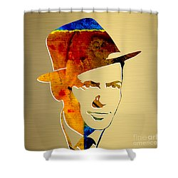 Frank Sinatra Gold Series Shower Curtain