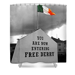 Free Derry Wall 1 Shower Curtain