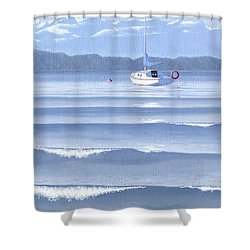 From The Beach Shower Curtain