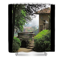 Garden View Shower Curtain by Ellen Henneke