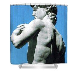 Glance At David Shower Curtain