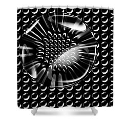 Glass Ball Shower Curtain