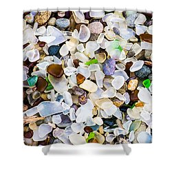 Glass Beach Shower Curtain