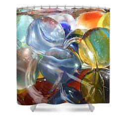 Glass In Glass 5 Shower Curtain