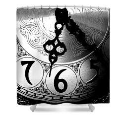 Grandfather Clock Shower Curtain