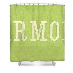 Harmony Shower Curtain by Linda Woods
