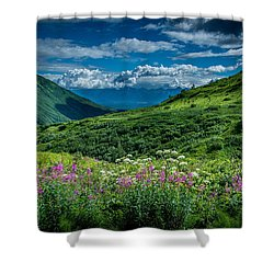 Hatcher's Pass Shower Curtain