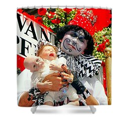 Shower Curtain featuring the photograph 2 Heads Are Better Than One by Ed Weidman