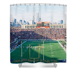 High Angle View Of Spectators Shower Curtain by Panoramic Images