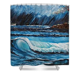 Hope  Shower Curtain by Patricia Olson
