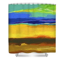 Horizons Shower Curtain by Stephen Anderson