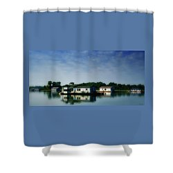 Horseshoe Pond Shower Curtain