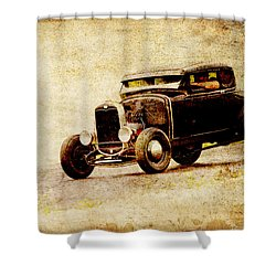 Hot Rod Ford Shower Curtain